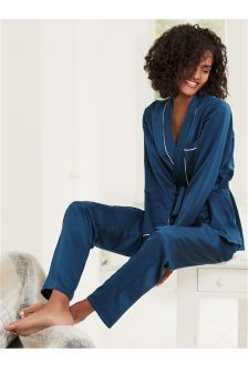 Luxury Satin Wrap Pyjamas