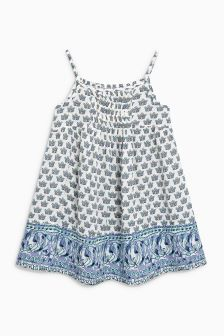 Tile Print Sundress (3-16yrs)