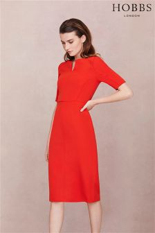 Hobbs Red Wren Dress