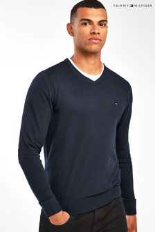 Tommy Hilfiger Core Cotton Silk Crew Neck Sweater