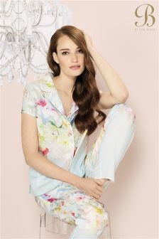 B By Ted Baker Hanging Gardens Revere Pyjama Top