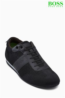 Boss Green Black Lighter Low Pro Trainer