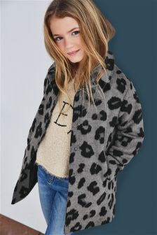 Leopard Print Jacket (3-16yrs)