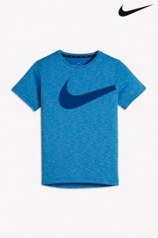 Nike Blue Breathe Training Top