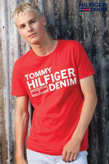 Hilfiger Denim Navy Basic Graphic T-Shirt