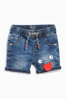 Smile Face Shorts (3mths-6yrs)