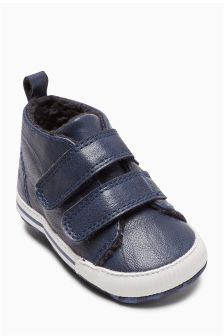 Pram Double Strap Boots (Younger Boys)
