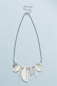 Shape Drop Short Necklace