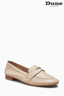 Dune Blush Galer Leather Loafer Shoe