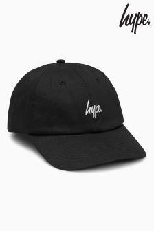 Hype Black Script Cap