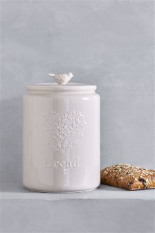 Song Bird Bread Bin