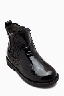 Scallop Chelsea Boots (Younger)