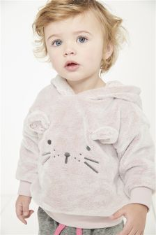 Mouse Fleece Hoody (3mths-6yrs)