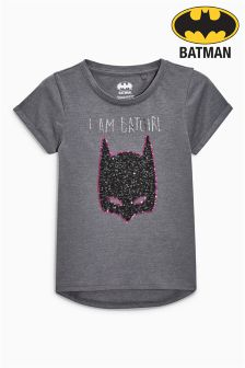 Sequin Batgirl T-Shirt (3-16yrs)