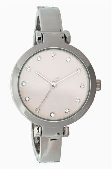 Skinny T-Bar Bracelet Watch