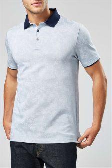 Floral Premium Poloshirt