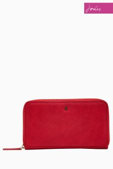 Joules Red Fairford Purse