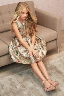 Jacquard Prom Dress (3-16yrs)