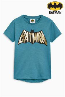 Batman® Foil Print T-Shirt (3-14yrs)