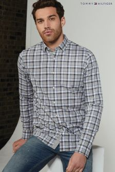 Tommy Hilfiger Grey Florence Check Shirt