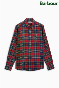 Barbour® Navy/Red Finley Check Shirt