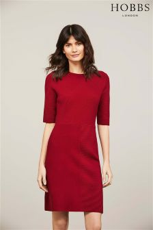 Hobbs Cherry Red Tamsin Dress