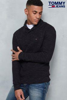 Tommy Hilfiger Denim Grey Pullover Sweatshirt