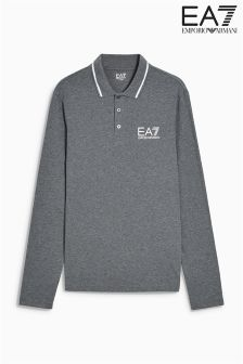 Emporio Armani EA7 Long Sleeve Polo