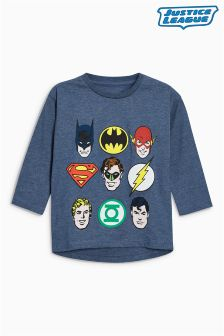 Justice League Long Sleeve T-Shirt (3mths-6yrs)