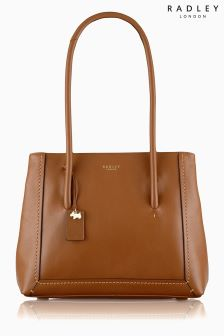 Radley Tan Boundaries Large Multi Compartment Shoulder Bag