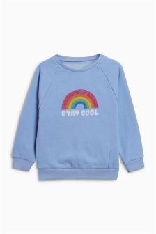 Slogan Crew Sweater (3mths-6yrs)