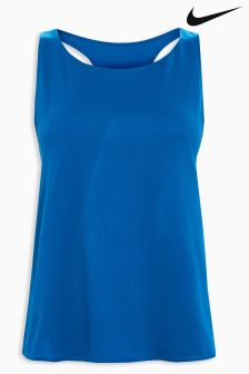 Nike Blue Breathe Training Tank
