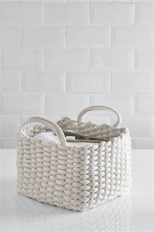 Square Rope Storage Basket