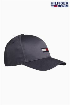 Hilfiger Denim Black Flag Cap