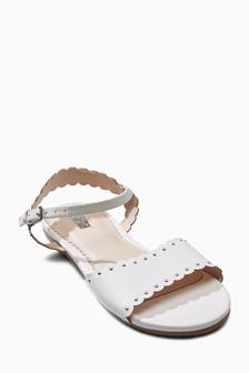 Scallop Sandals (Older Girls)