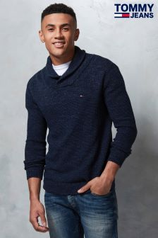 Tommy Hilfiger Denim Blue Pullover Sweatshirt