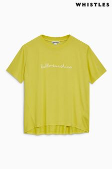Whistles Yellow Sunshine T-Shirt