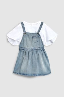 Pinafore And Blouse (3mths-6yrs)