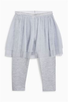 Ballet Leggings And Tutu (3mths-6yrs)