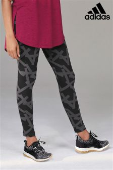 adidas Grey Print Legging