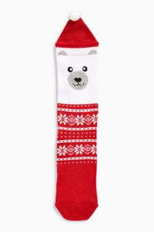 Polar Bear Socks (Older Girls)
