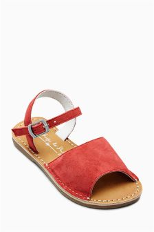 Peep Toe Sandals (Younger Girls)