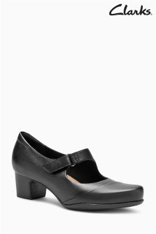 Clarks Black Rosalyn Wren Flexi Mary Jane