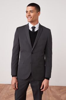Buy Men's suits Suits Grey Slim Fit Slimfit from the Next UK ...