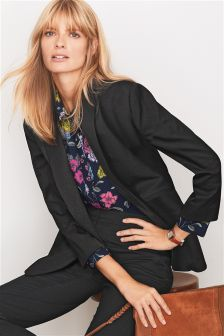 Textured Relaxed Blazer