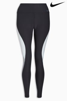 Nike Black/Grey Colourblock Tight