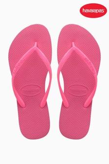 Havaianas® Slim Shocking Pink Flip Flop