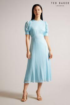 Multicoloured Block Print Eyelet Curtain Fabric Sample