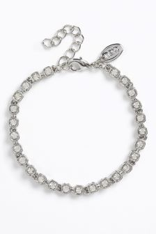 Crystal Effect Tennis Bracelet