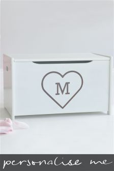 Heart Initial Toy box By My 1st Years